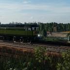 Class 52 on the evening run