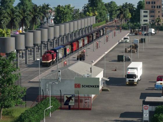 Kleiner Güterbahnhof