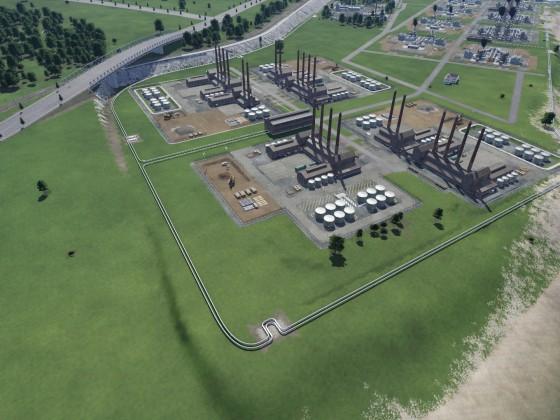 Pipelines zur Versorgung der Treibstoffraffinerien