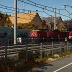 ÖBB 1063 on local freight run