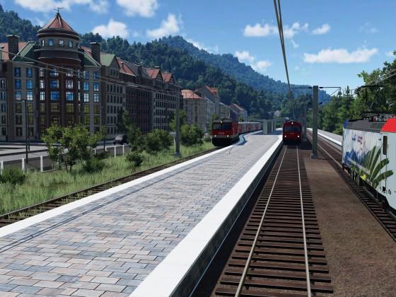 Voller Bahnhof
