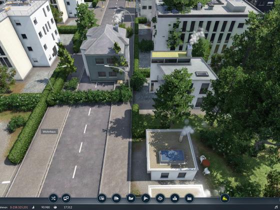 Haus auf Straße