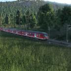 Regionalbahn Richtung Hallenburg