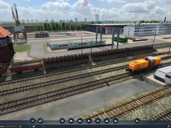 Güterbahnhof Lok-Tankstelle @Altenwerder