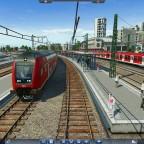 2 Züge am Bahnhof Sinntal