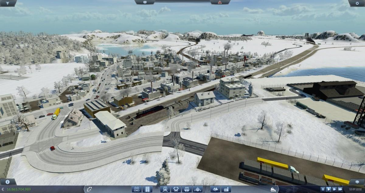 Winteranlage 8x8km.
