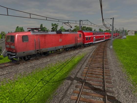 Baureihe 143 mit Regionalexpress