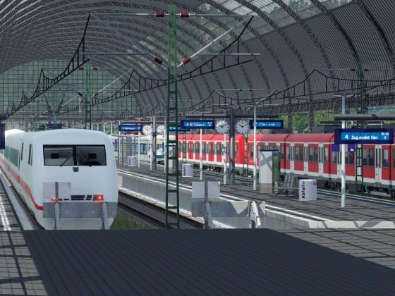 Neues Bahnhofspaket in Action
