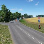 Mit der Pappe auf dem Weg Kaltenbach
