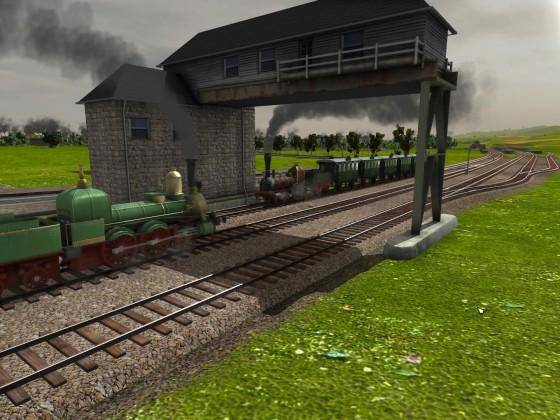 refresh the trains