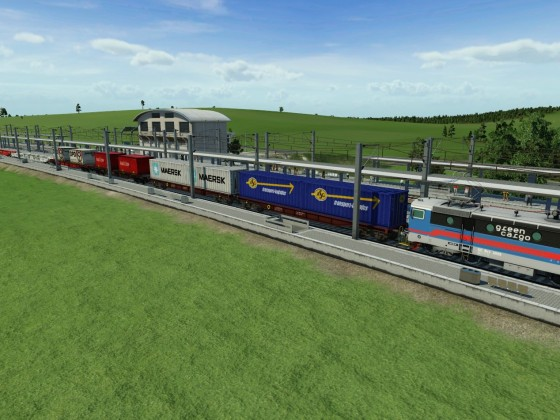 Green Cargo Containertrain
