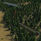 Aufgegebene Gleisanlagen neben den neuen