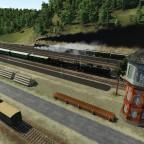 Personenzug mit BBÖ 310