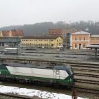 Hbf Passau - Blick auf den Nebenausgang