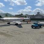 Boarding am Regionalflugplatz 1