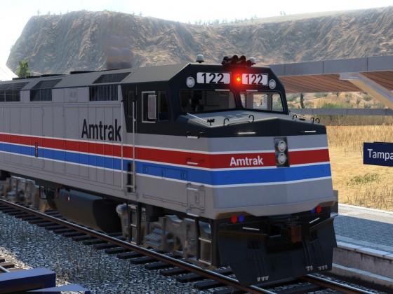 EMD F40 PH - Amtrak Phase II