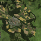 Luftbild vom bisher fertigen Bereich II