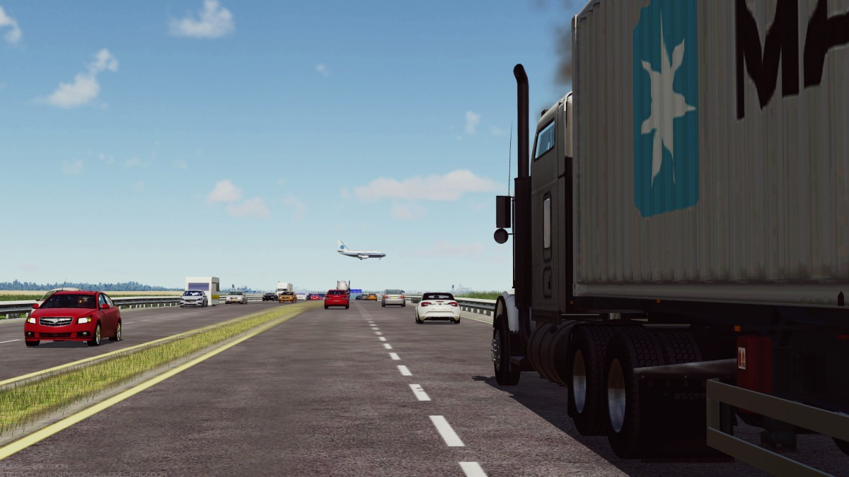 Kenworth T800 and Boeing 737