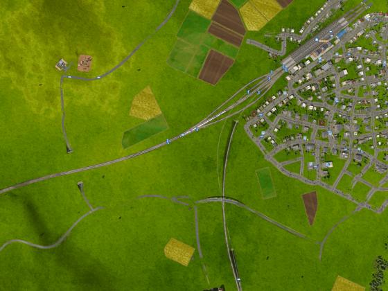 Gleisanlagen von Ilford