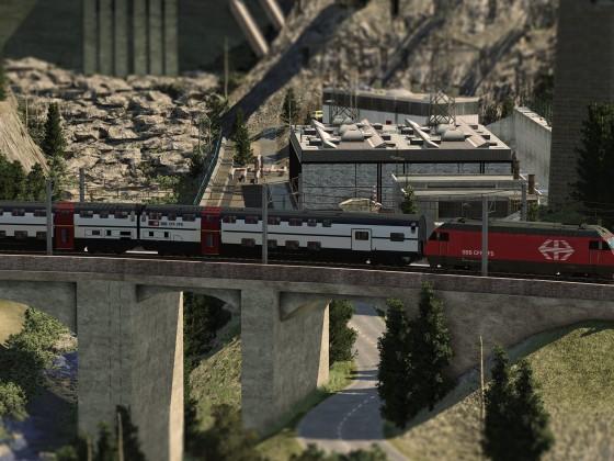 Re-460 / Wasserkraftwerk