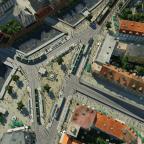 Stadtmitte von oben