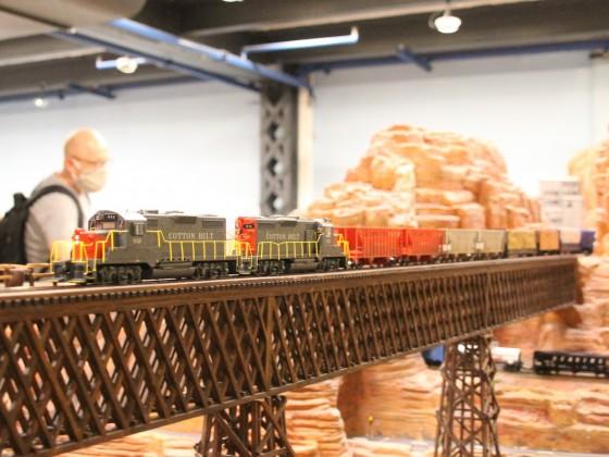 Güterzug im Grand Kanien