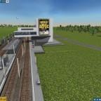 "Moderner Bahnhof ""ACDC"""