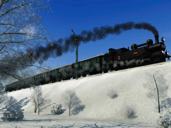 KkStB 30 mit Lokalbahn