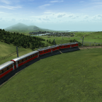 Die Kurve von Alp Grüm