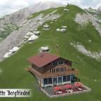 Almhütte Bergfrieden