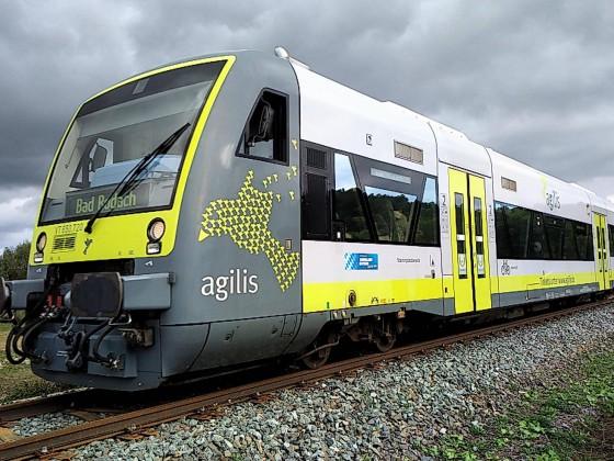 Agilis auf dem Weg nach Bad Rodach