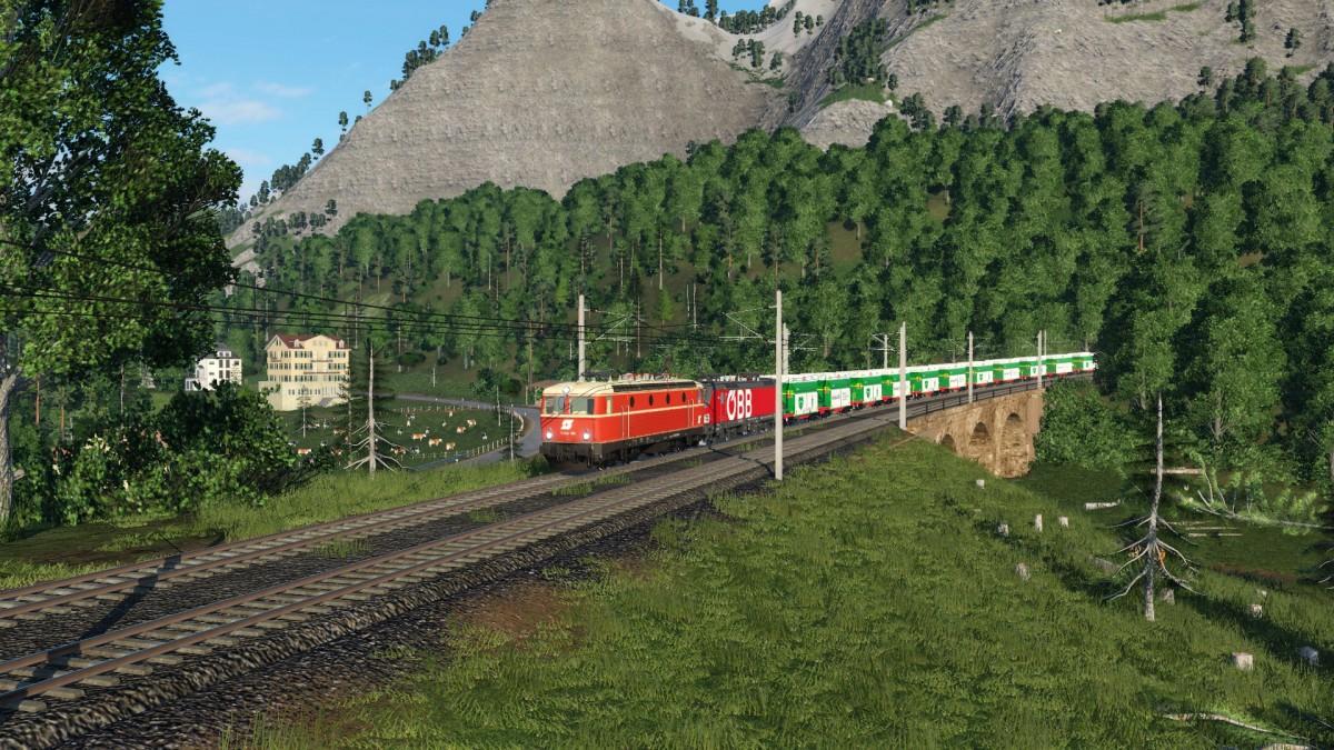 Forstwirtschaft am Bahndamm