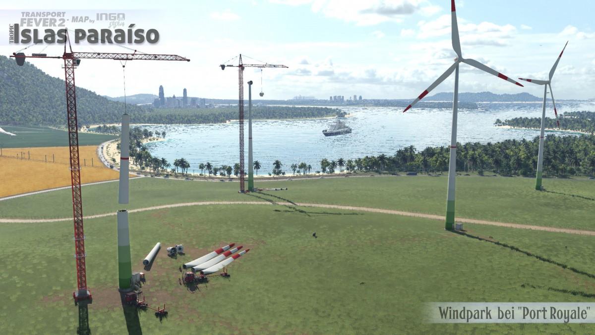 "Windpark bei ""Port Royale"""