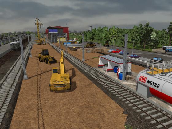 Ausbau des Güterbahnhofs