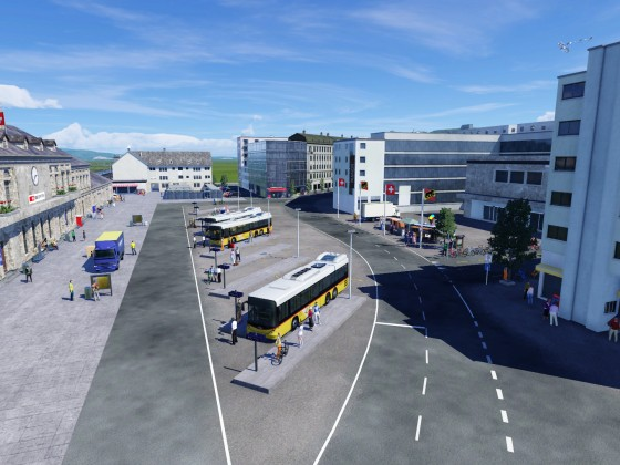 Bahnhofsplatz Thun WIP