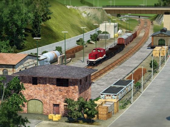 Kleiner Güterbahnhof 2