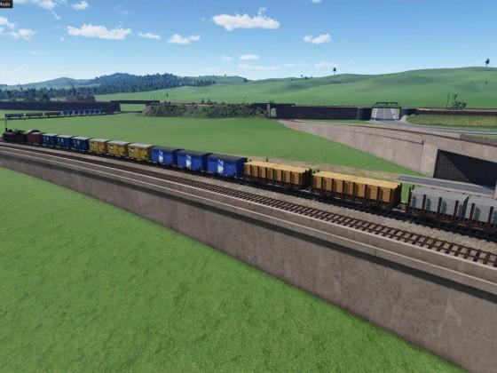 Bahndamm in der Po-Ebene_3