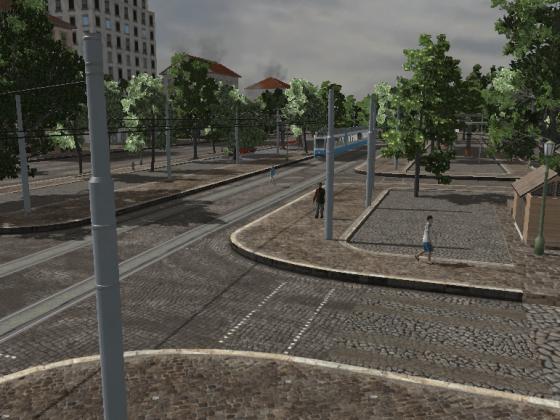 Am S-Bahnhof