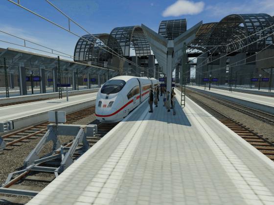 Pressefahrt zum neuen Südbahnhof von Tremoniax City