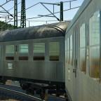 n-Wagen Silberlinge an Haltepunkt 23