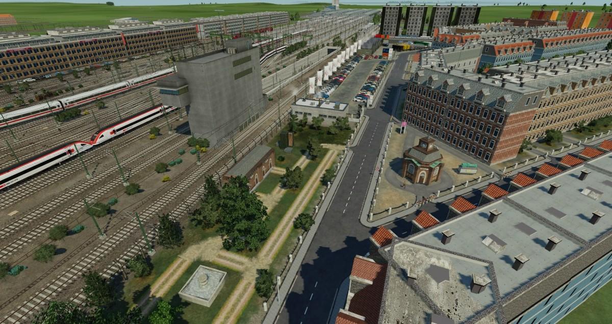WIP - Fortschritte in Bahnhofsnähe