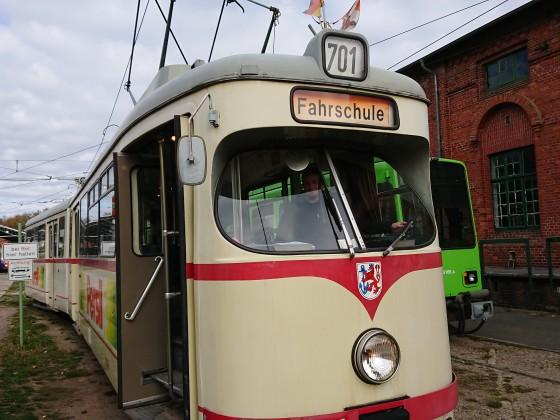 Einmal Straßenbahn selbst fahren