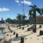 """Pacific paradise"" public beach"