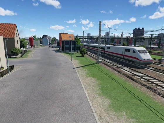Rastatt Bahnhof Richtung HBF
