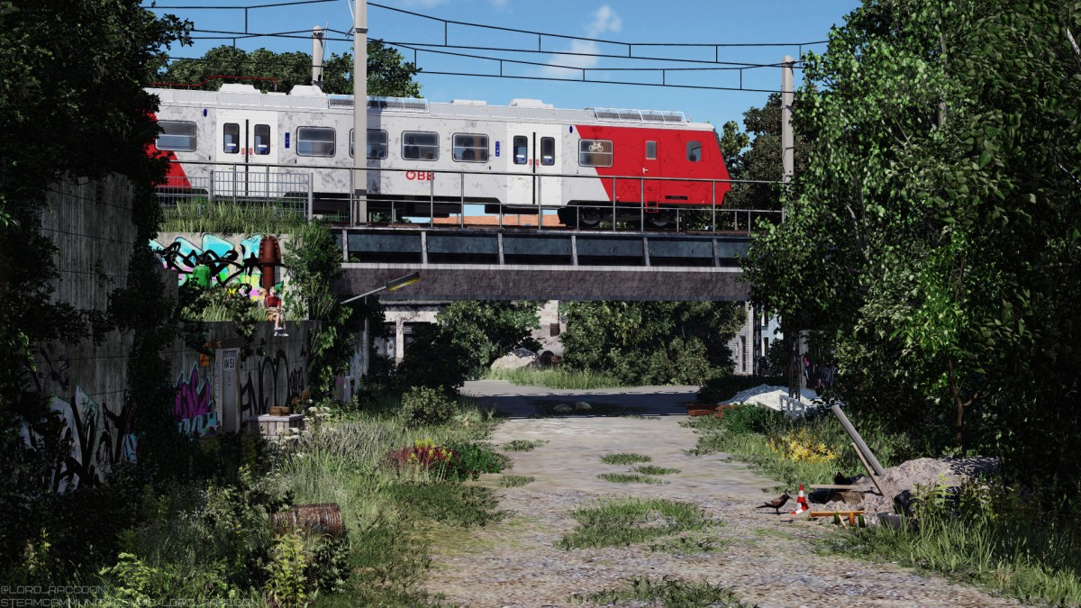 """[TpF1] ÖBB 4020 """"Cityshuttle"""" and a favourite among local teenagers place"""
