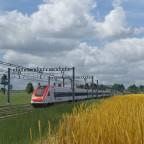 Trainspotting in Buchenrain. Die meisten Verbindungen der Inseln passieren den Bahnhof Buchenrain.