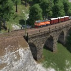 Mixed Freight in the mountains