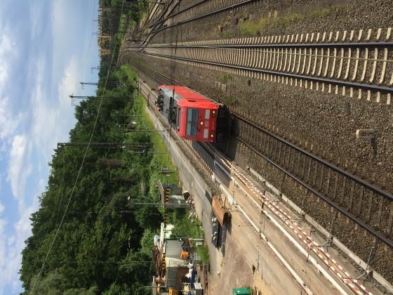BR 185 in Duisburg-Entenfang