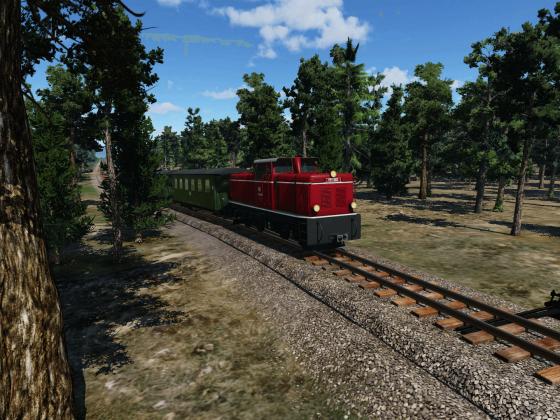 Baureihe V51 bei einer Probefahrt