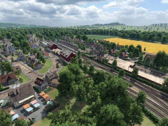 Eisenbahnknotenpunkt Kaltenhagen